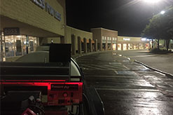Retail Strip Pressure Washing