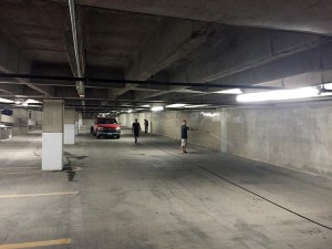Parking Garage Pressure Washing