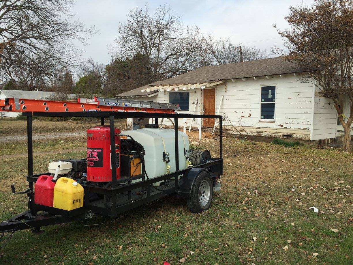 Residential Power Washing in DFW