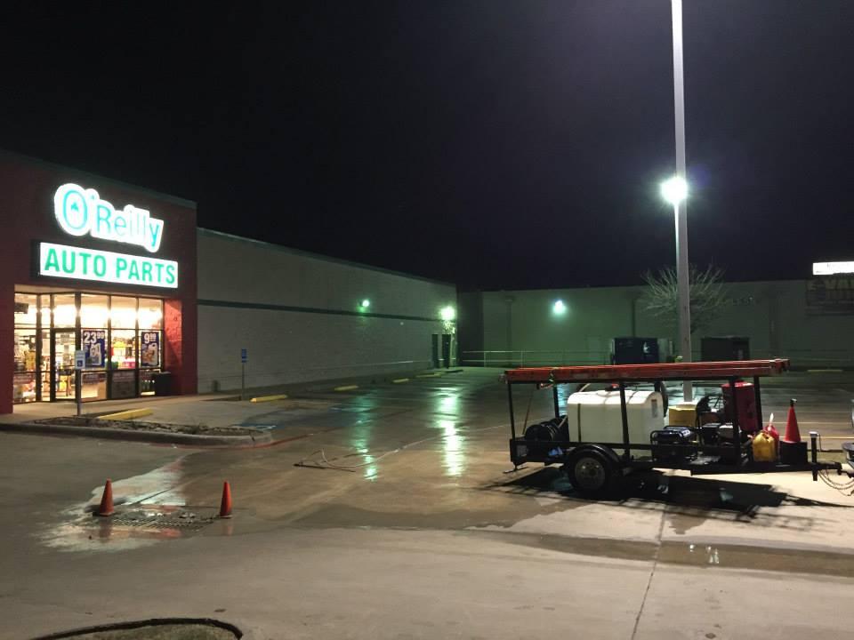 Dallas, TX Post-Construction Pressure Washing