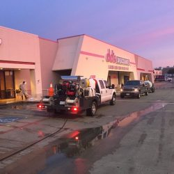 Commerical Pressure Washing Retail