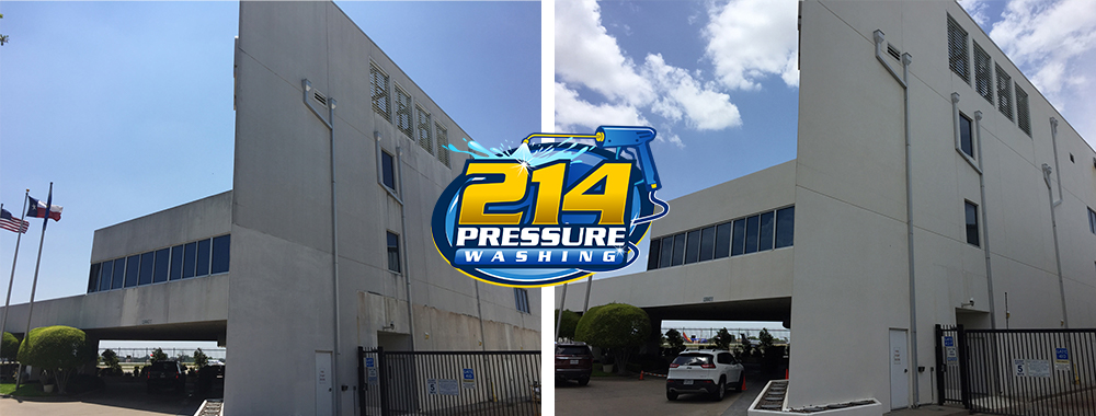 Maintain Great Commercial Appearance with 214 Pressure Washing