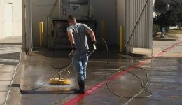 214__Concrete Pressure Washing